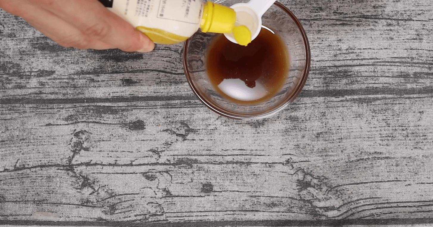 レモン汁を小さじ1
